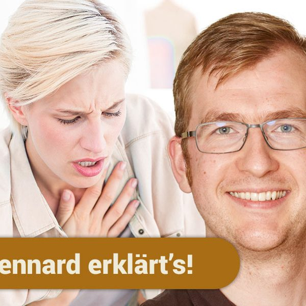 Zahnarzt Lennard Bertram nennt die Zusammenhänge von Zahnfleischentzündung und Atemproblemen.